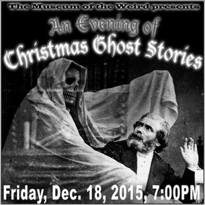 An Evening of Christmas Ghost Stories web image