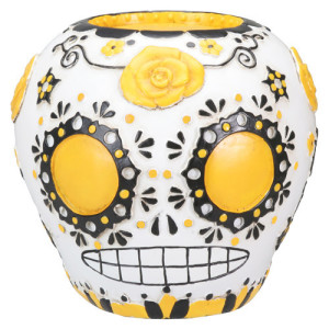Sugar Skull Yellow