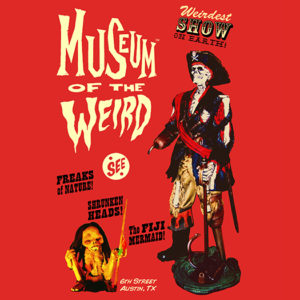 Museum of the Weird skeleton pirate