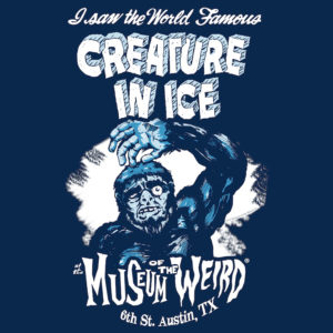Creature in Ice tee (low-res)